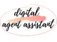 Logo Digital Agent Assistant encircled